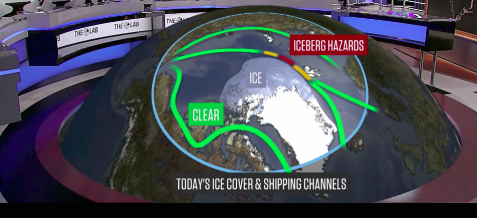 On Monday the  World Meteorological Organisation launches a two-year project aimed at improving weather, climate and ice forecasting in the Arctic and Antarctic. (WMO video still via The Arctic Journal)