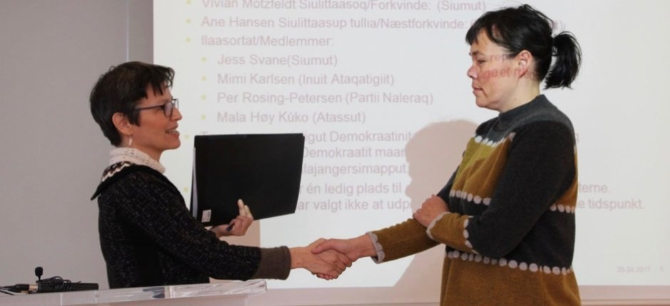 Greenland forms a commission to write its first constitution
