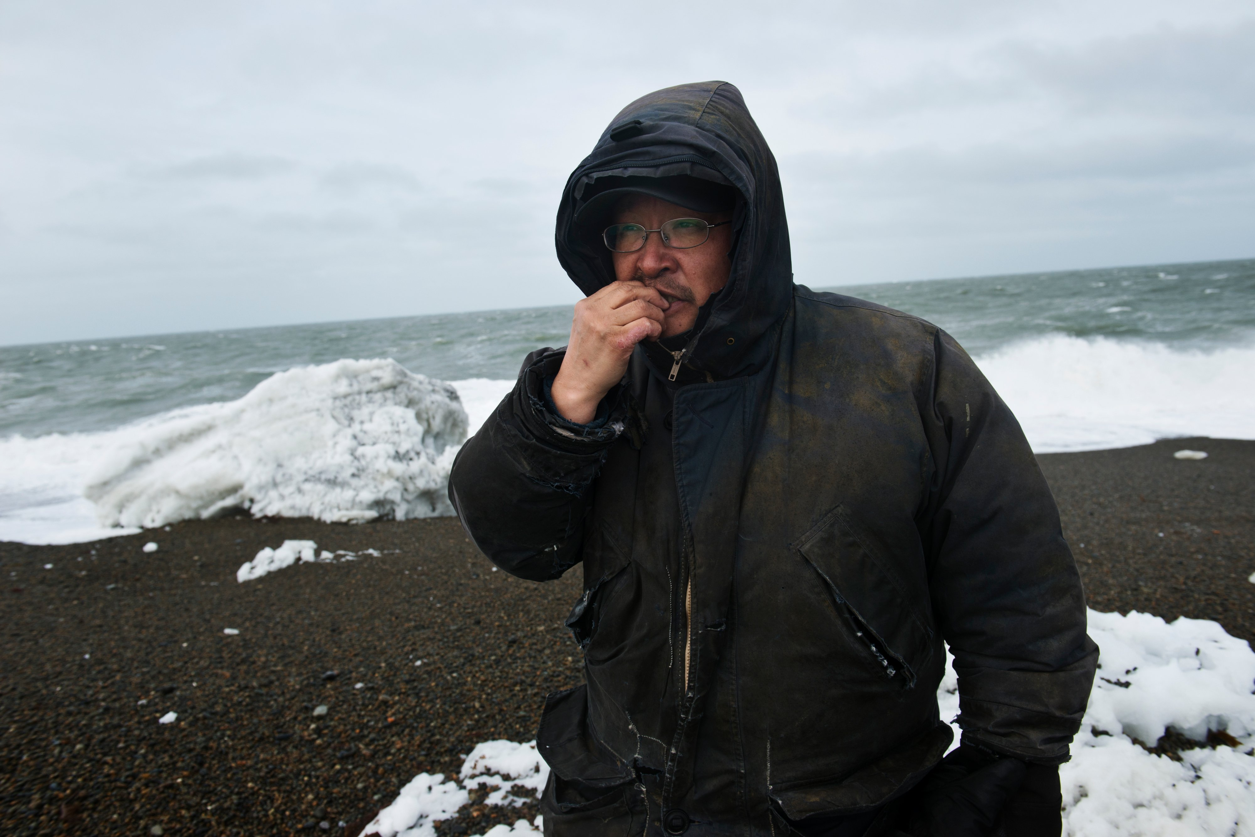 Wash-ashore subsistence: Beaches of St. Lawrence Island provide a bounty