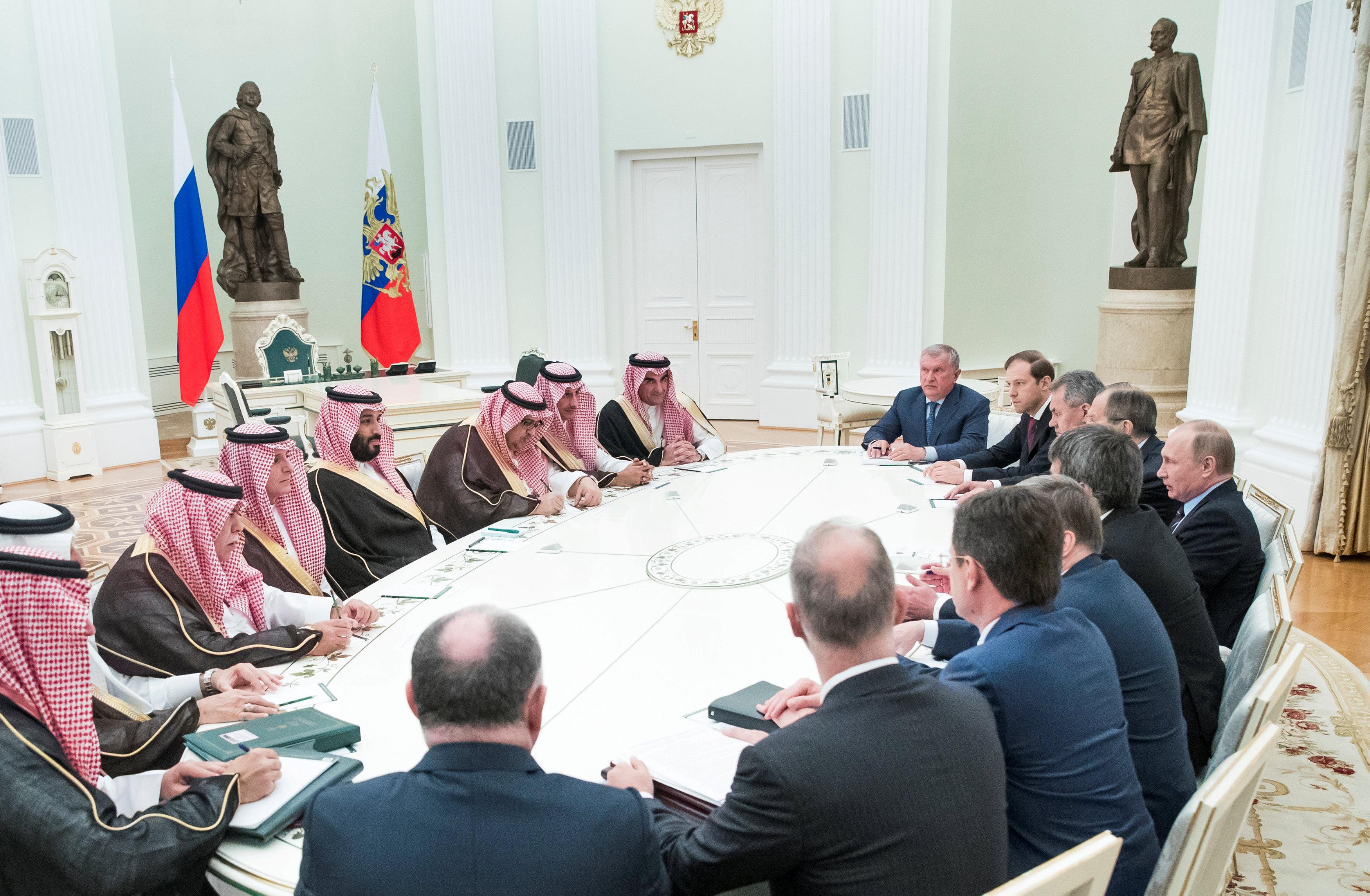 Saudi investors eye Russian Arctic LNG