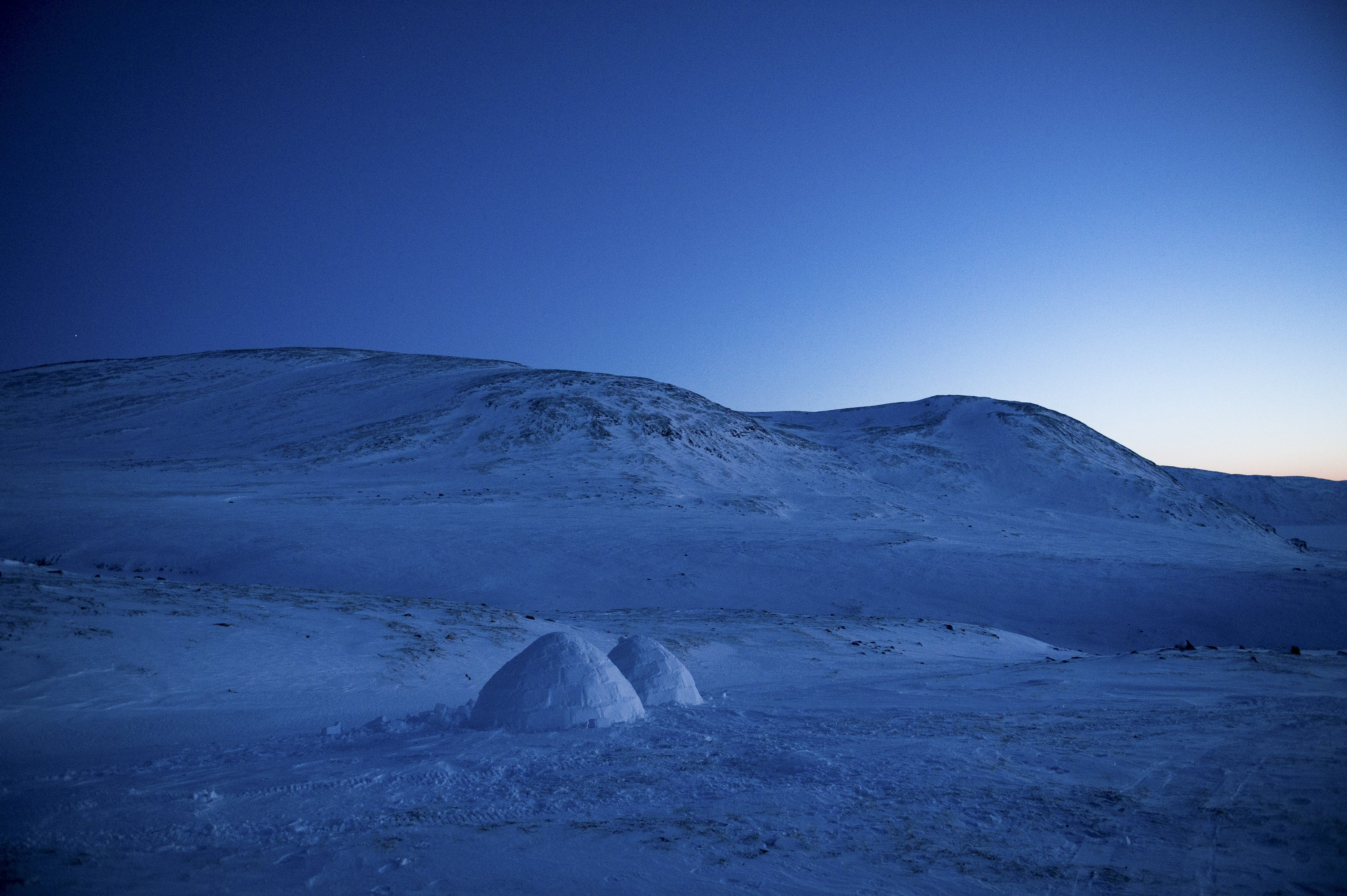 Igloos In The Arctic A lost art in the Arct...