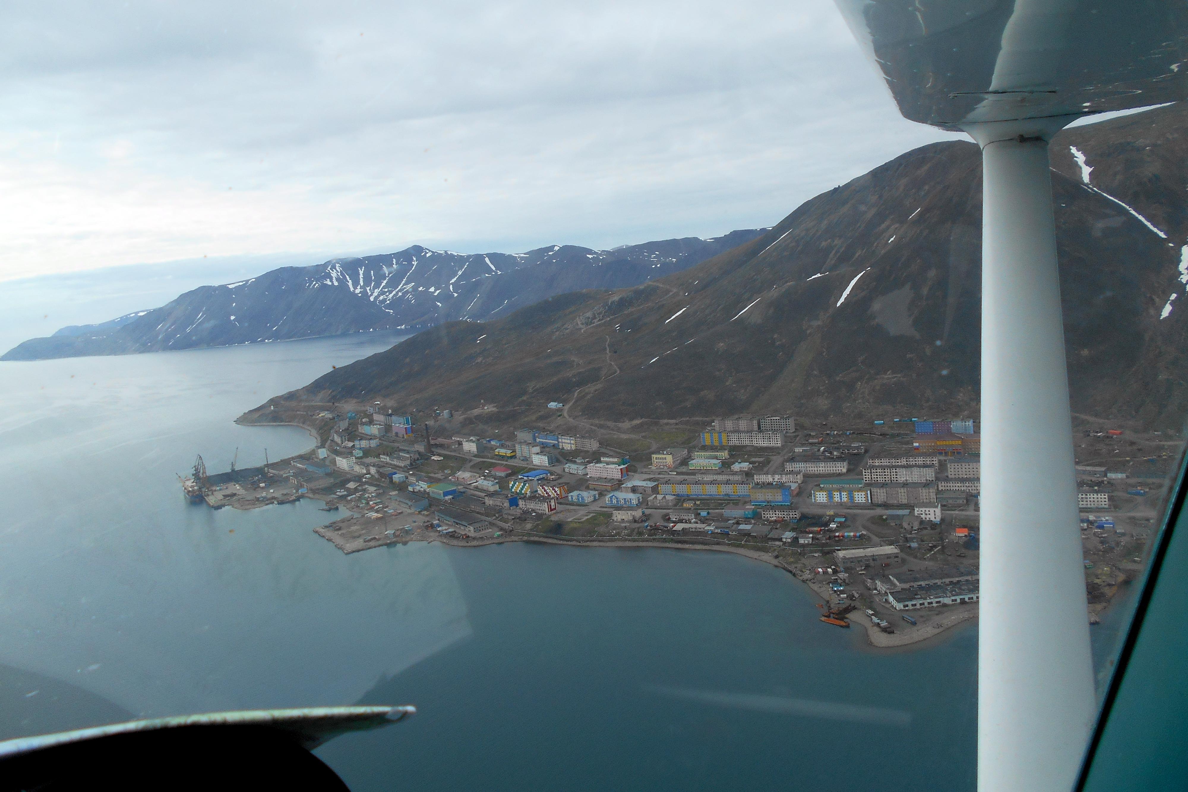 Alaskans in tiny Cessna make goodwill flight to Russia