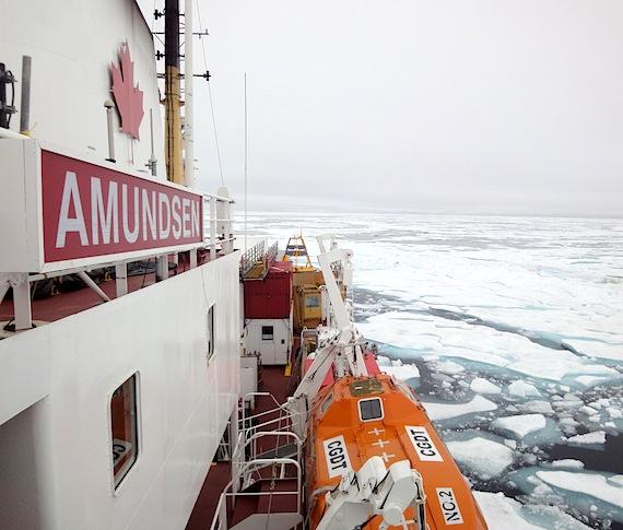 Amundsen icebreaker prepares for another summer of Arctic science