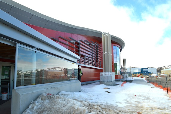 With a big new airport terminal in Iqaluit, Nunavut hopes to attract more tourists