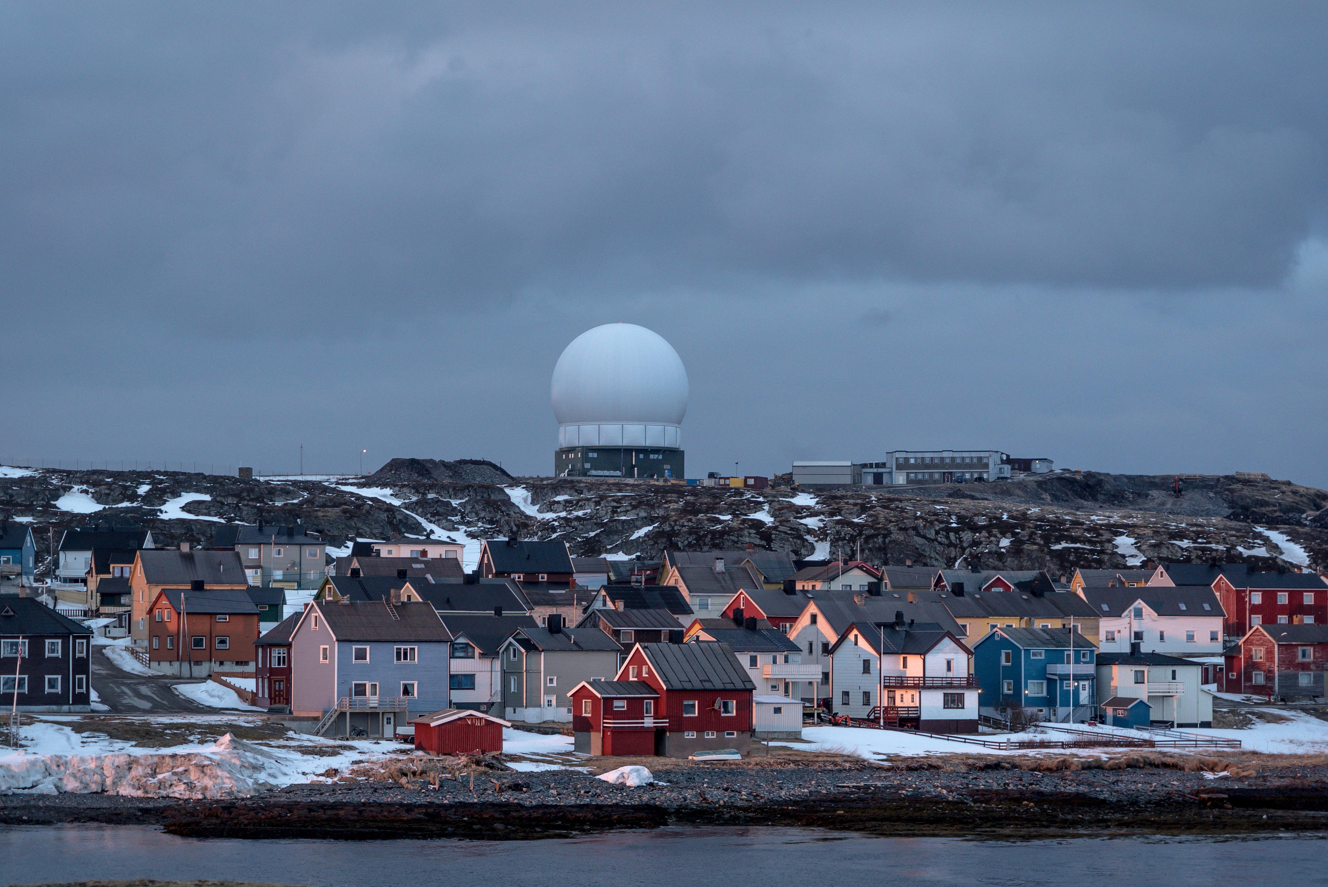 On a tiny Norwegian island, America keeps an eye on Russia