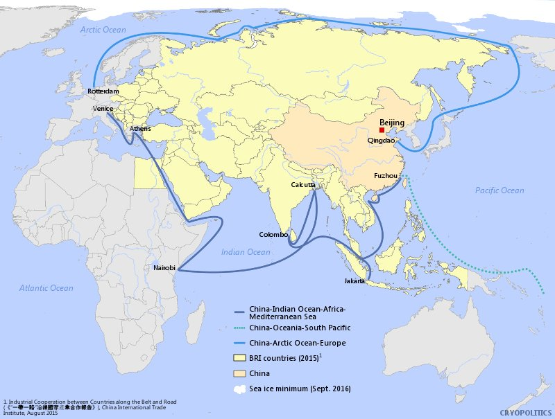 China S Belt And Road Initiative Moves Into The Arctic Arctictoday