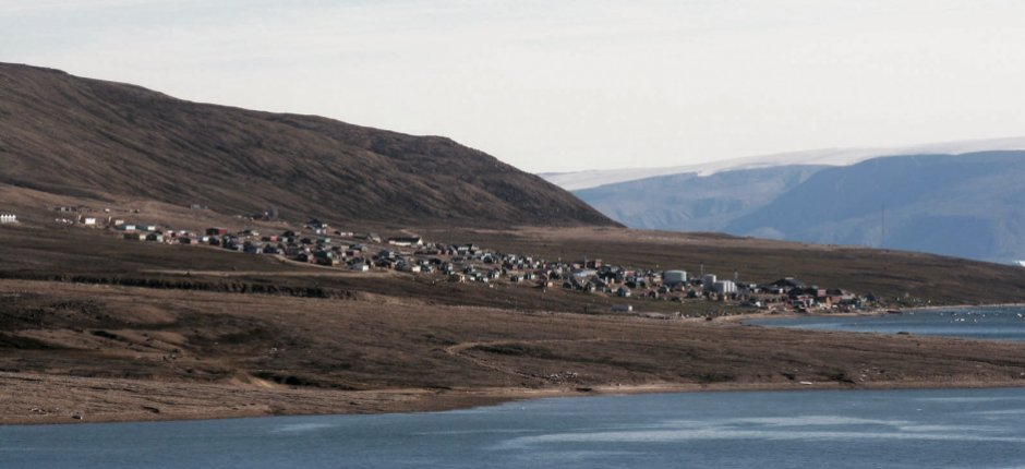 Qaanaaq, like other small remote villages in Greenland, needs infrastructure to realize its economic potential. (Col. Lee-Volker Cox / U.S. Air Force)