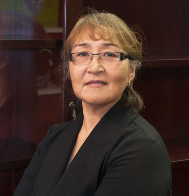 Nunavut's new official languages commissioner, Helen Klengenberg, starts her job defending language rights in Nunavut on June 29. She is the territory's first commissioner whose primary Inuktut dialect is Inuinnaqtun. (Handout photo via Nunatsiaq News)