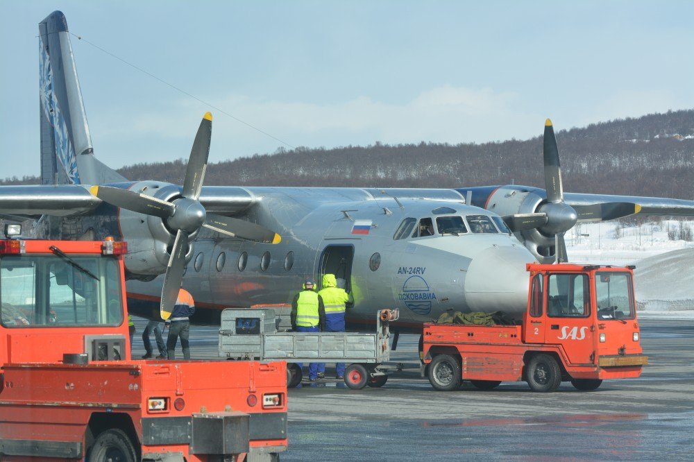 Nordavia operated flights to Tromsø until October 2014. The route was the only linking Barents-Russia to northern Norway. (Thomas Nilsen / The Barents Observer)