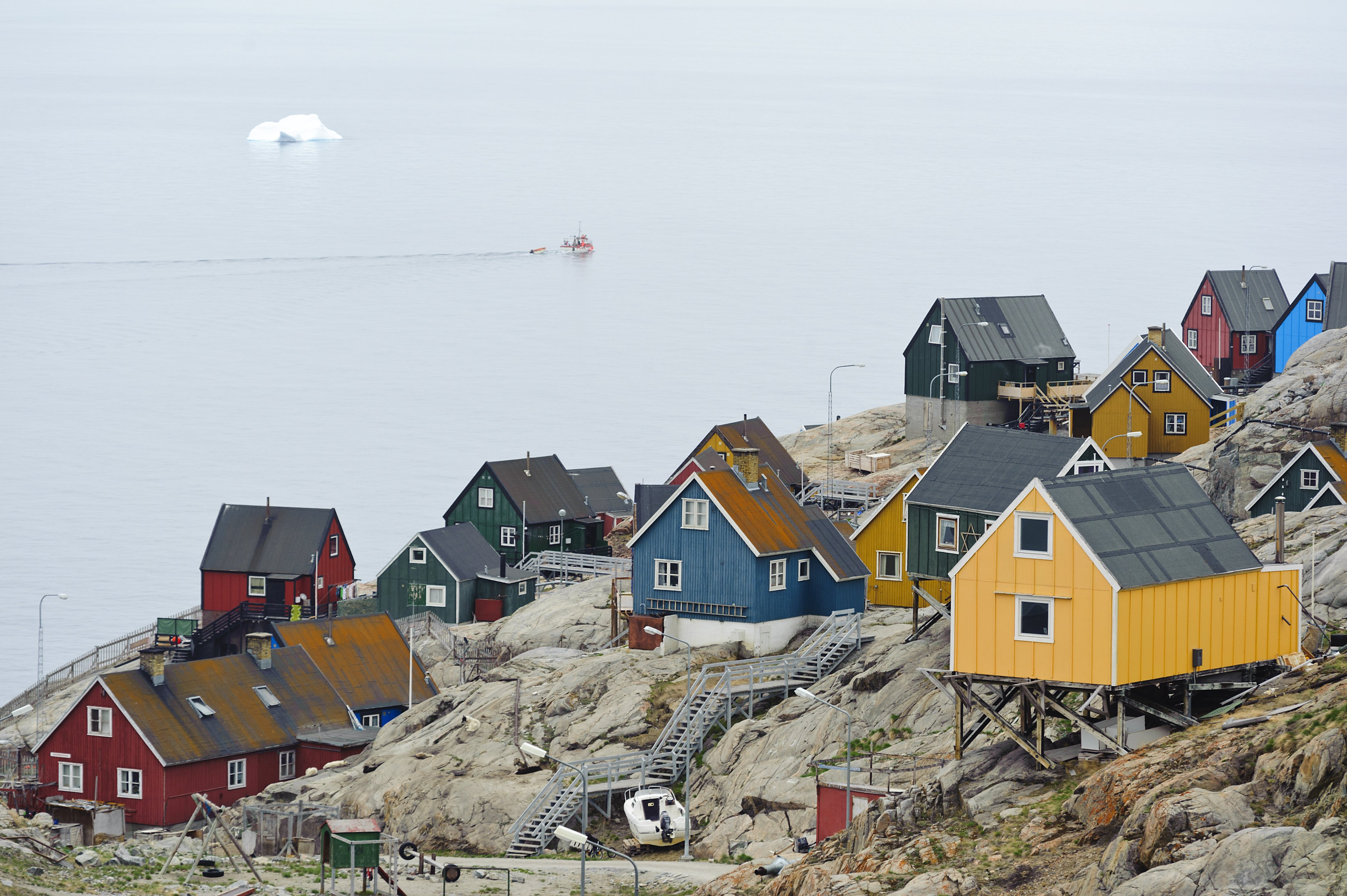 Child, three adults feared dead in flooded Greenland village