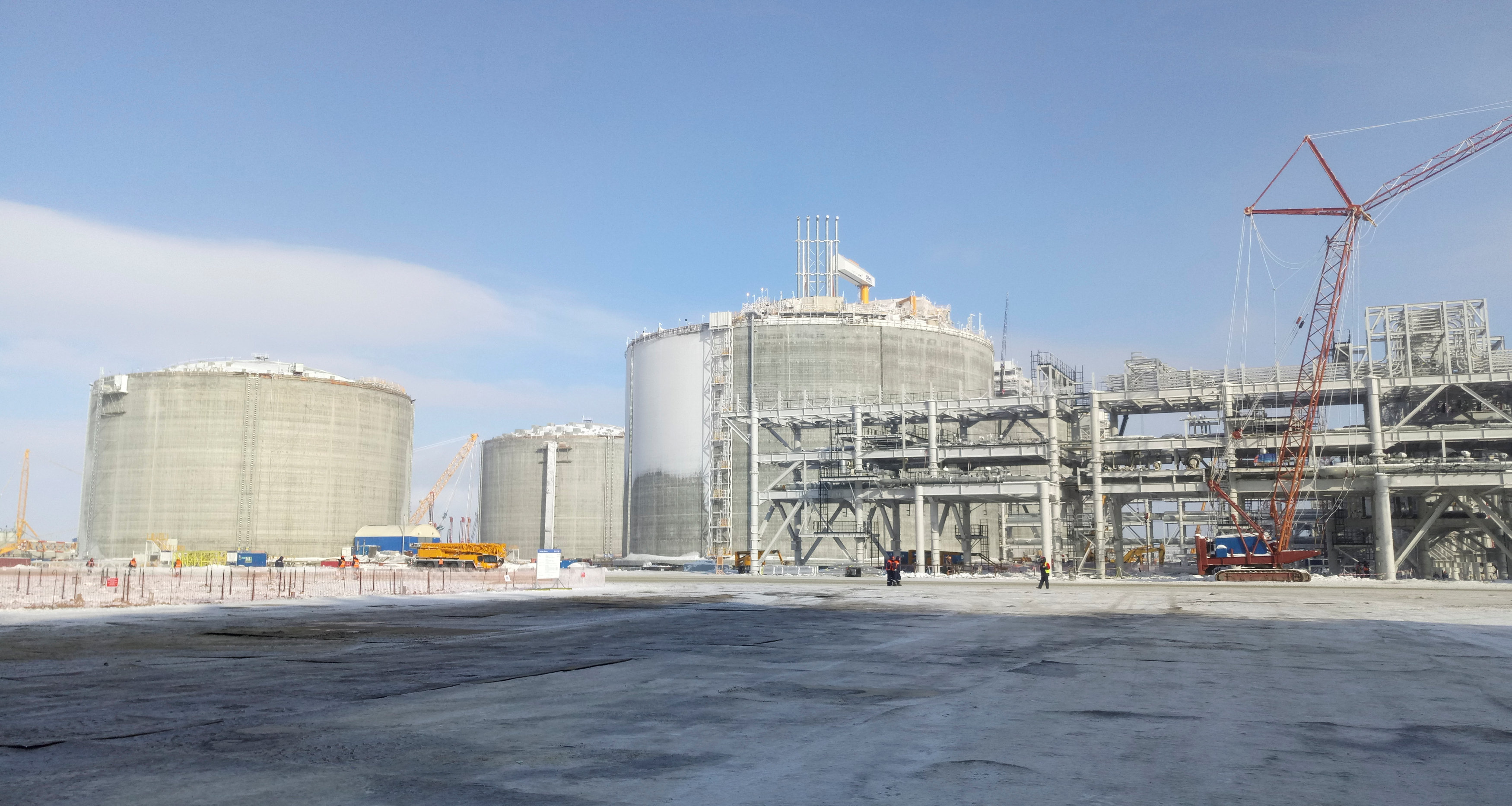 Novatek head touts job-boosting potential of LNG projects in Russia's Arctic