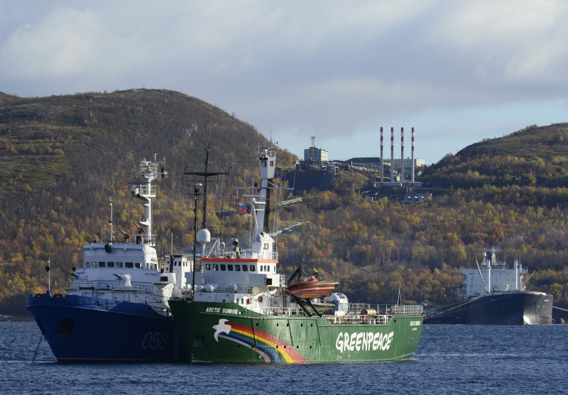 Russia says Greenpeace boat seizure ruling encourages illegal action