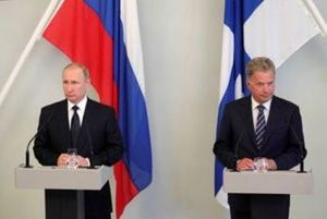 Russia ready to work with non-NATO states that border the Baltic: Putin