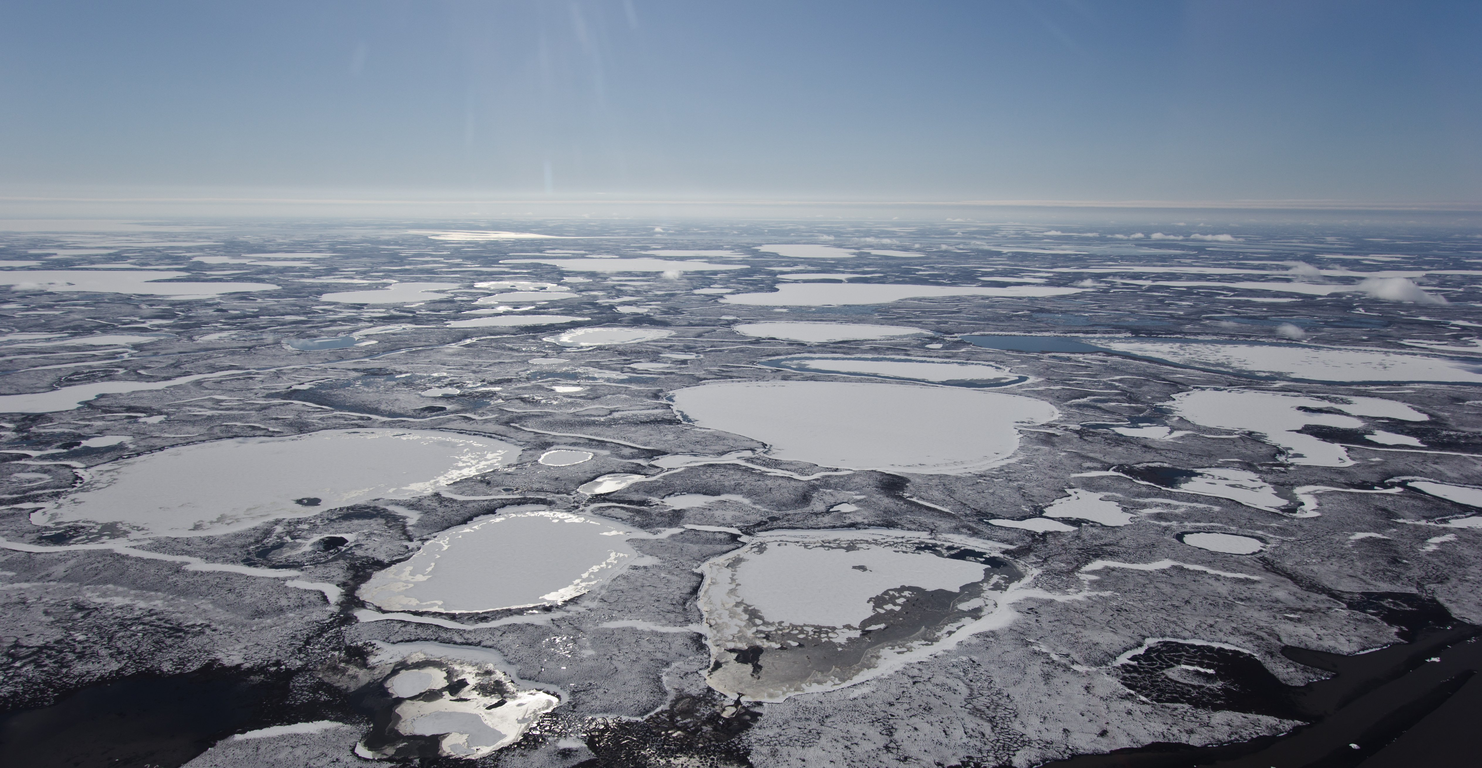 Strong methane emissions in Canada's Arctic linked to sub-permafrost methane banks