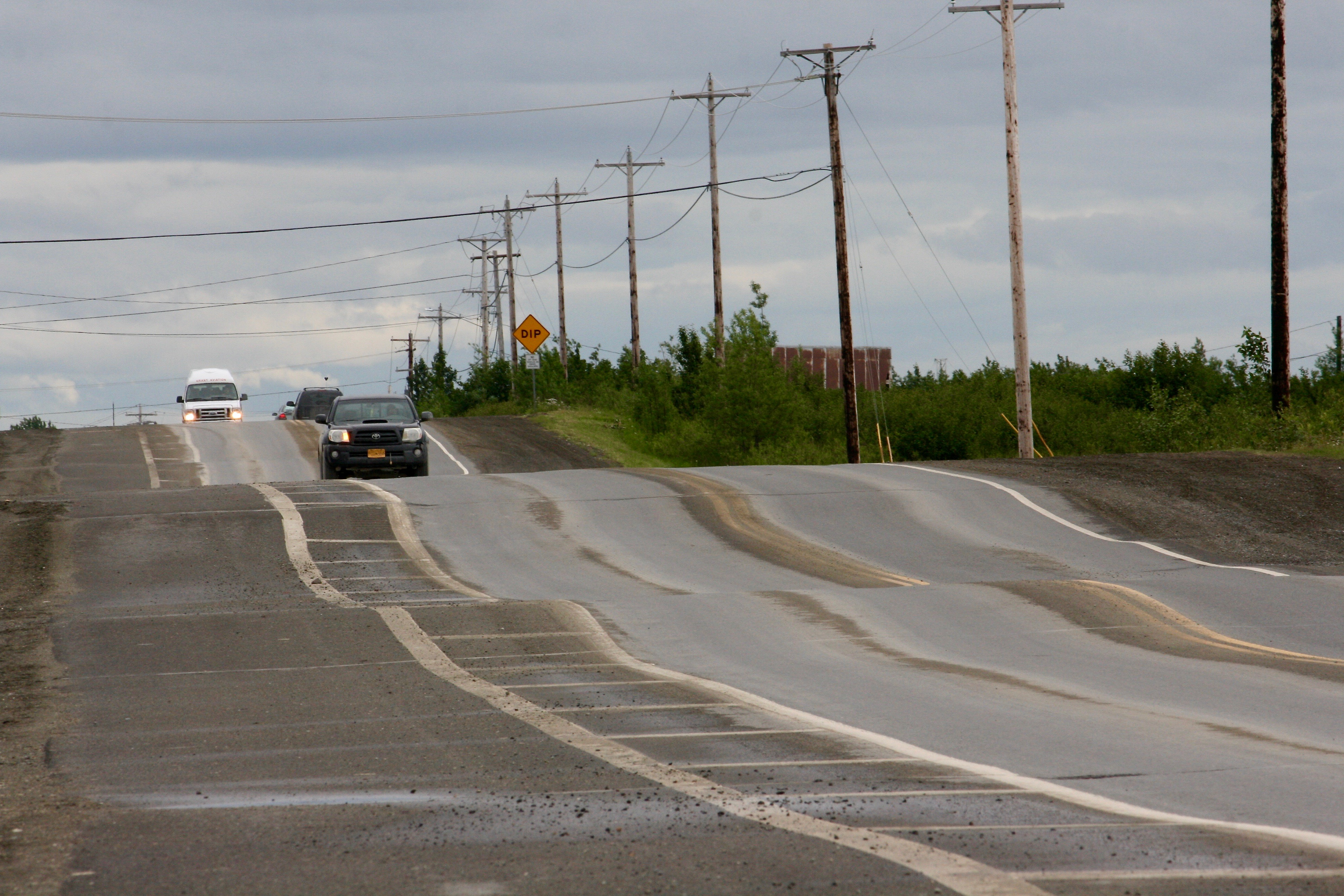 'The permafrost is dying': Bethel sees increased shifting of roads and buildings