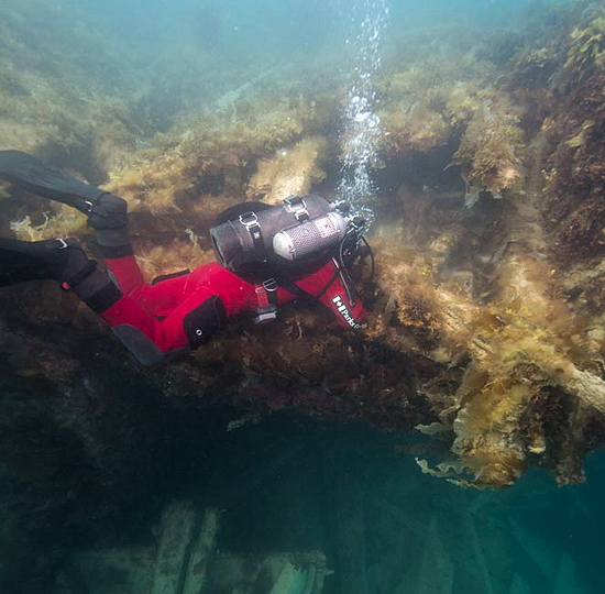 Parks Canada downsizes archeological work on Franklin wreck this summer