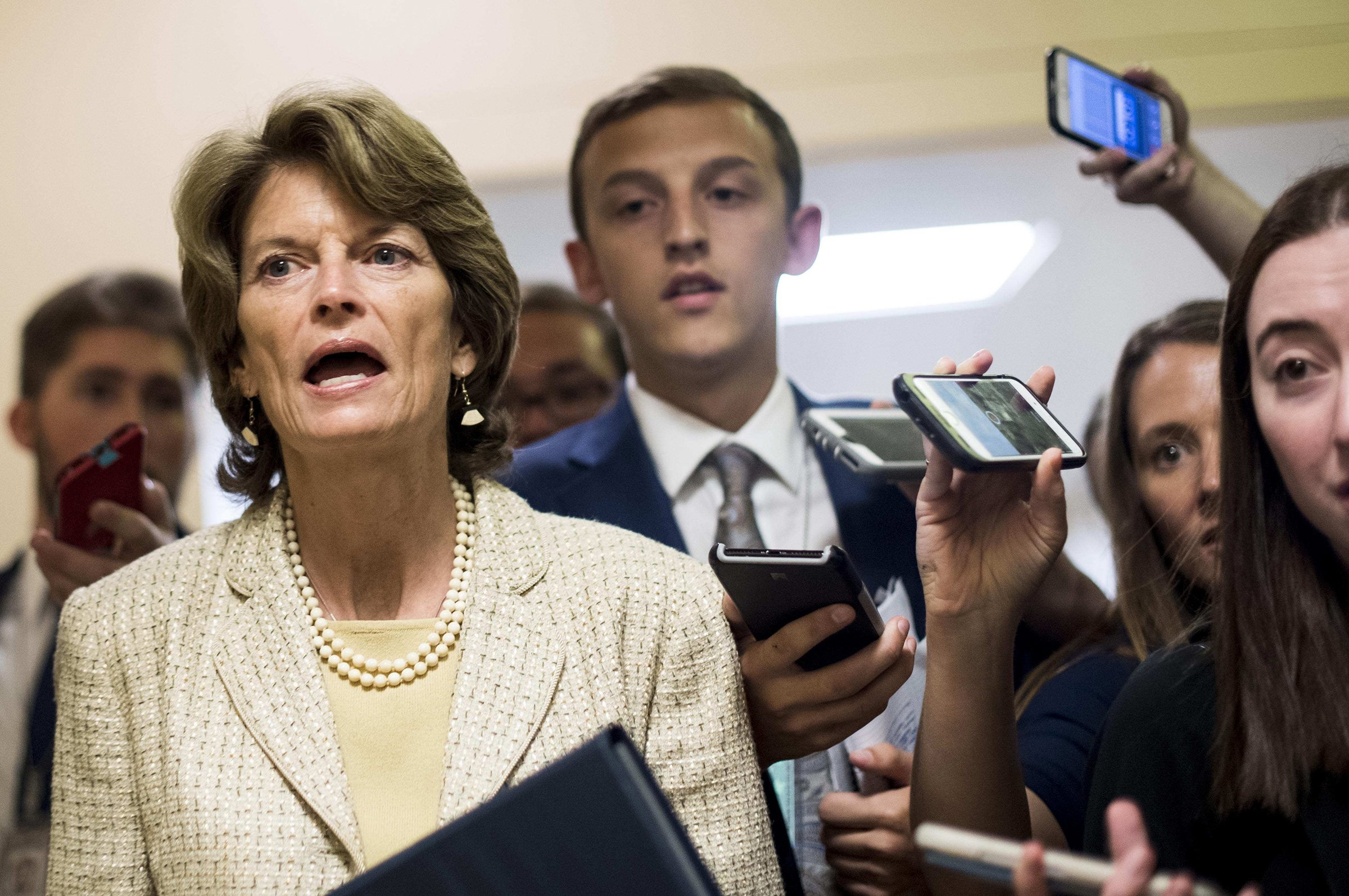 Murkowski dismisses concerns about Alaska energy repercussions after Trump threat