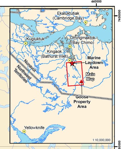 Nunavut review board reverses course, approves Back River mine