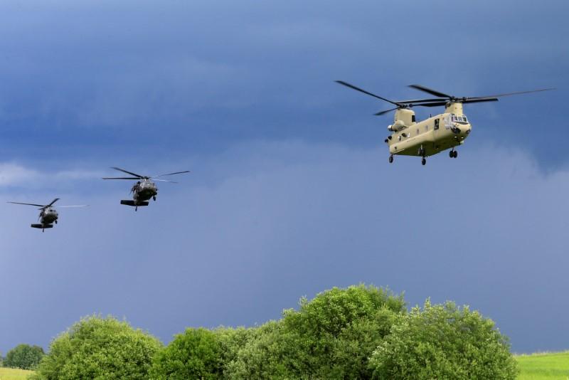Eyeing Russia, U.S. military shifts toward more global war games