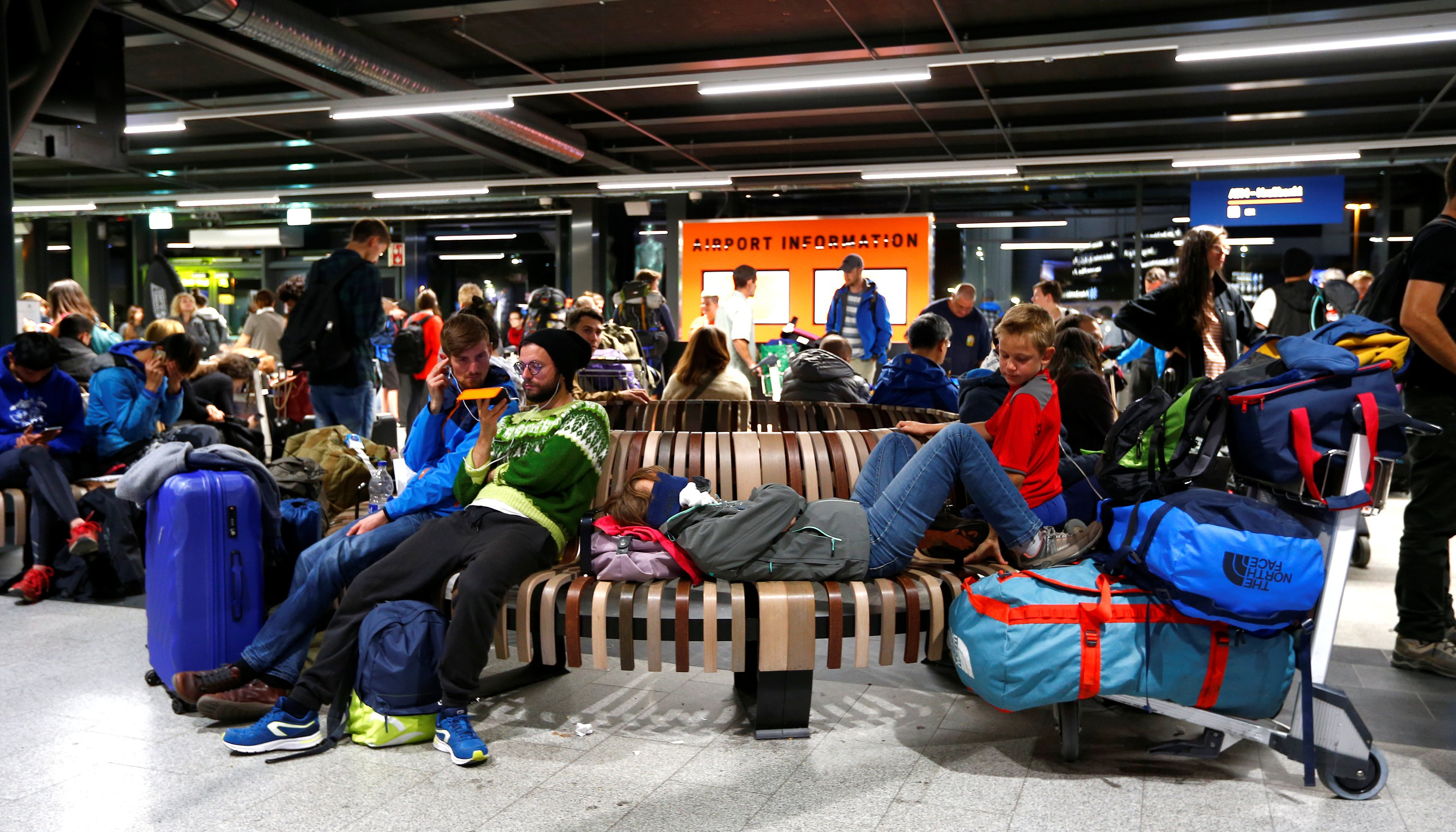 Iceland's Keflavik Airport sets a new record high for passengers last month