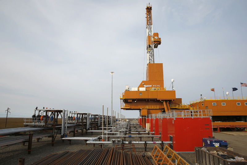 ConocoPhillips launches drilling at a North Slope oil field