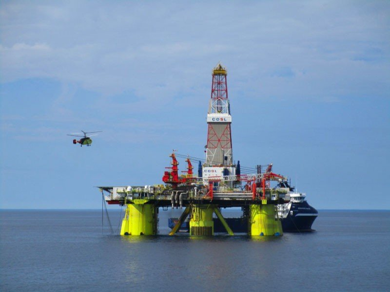 Chinese rig proceeds drilling in Kara Sea