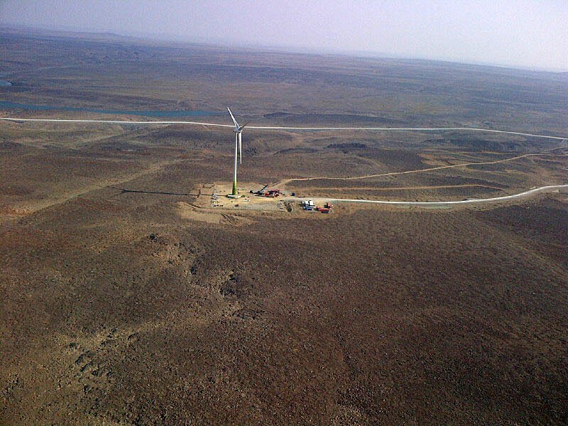 Two Nunavut hamlets experiment with wind, solar energy