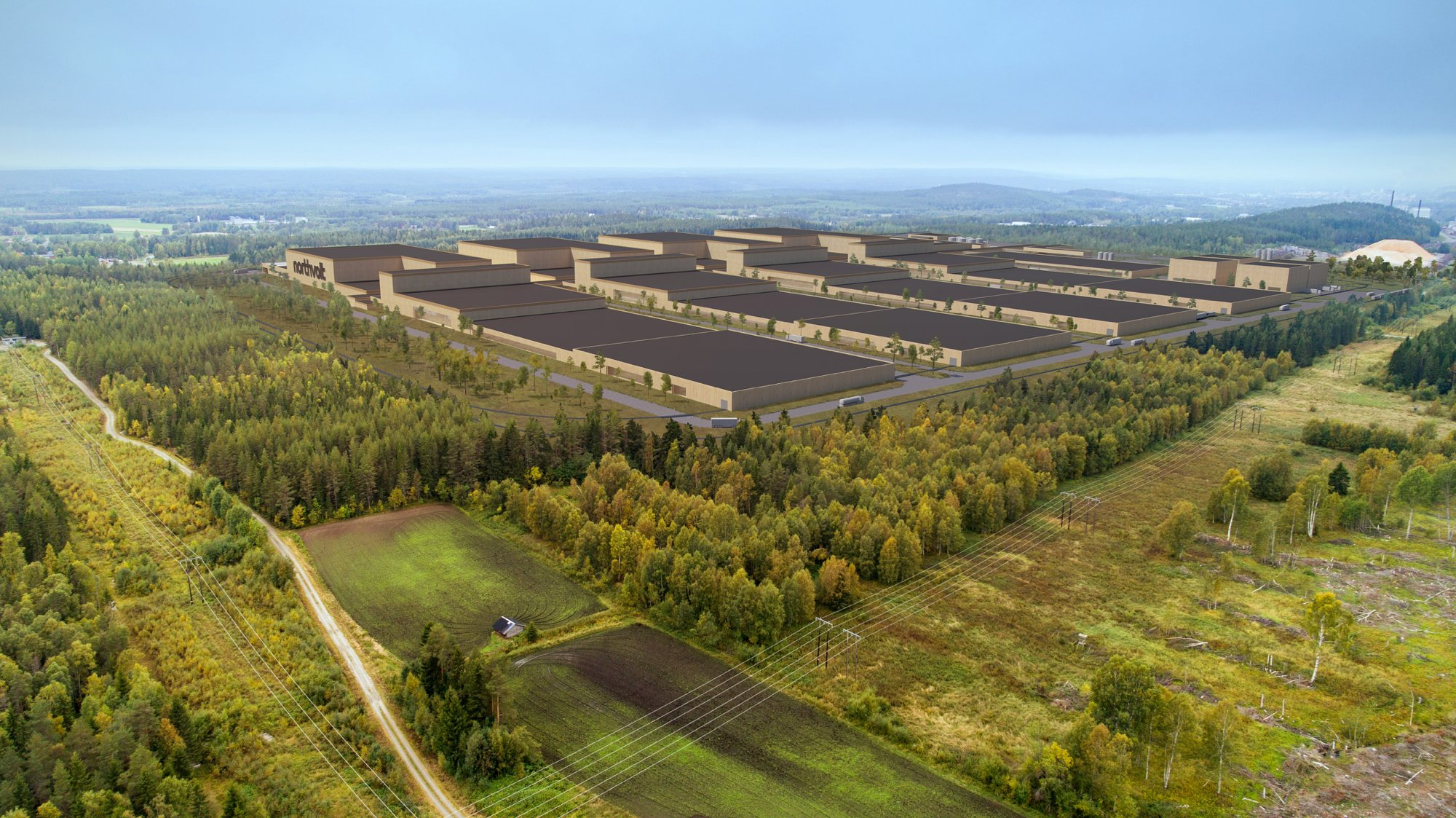 Northern Swedish city is set to get Europe's largest battery factory
