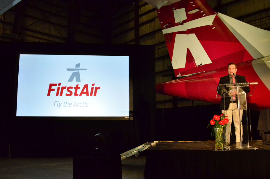 Rebranded First Air celebrates a rebirth