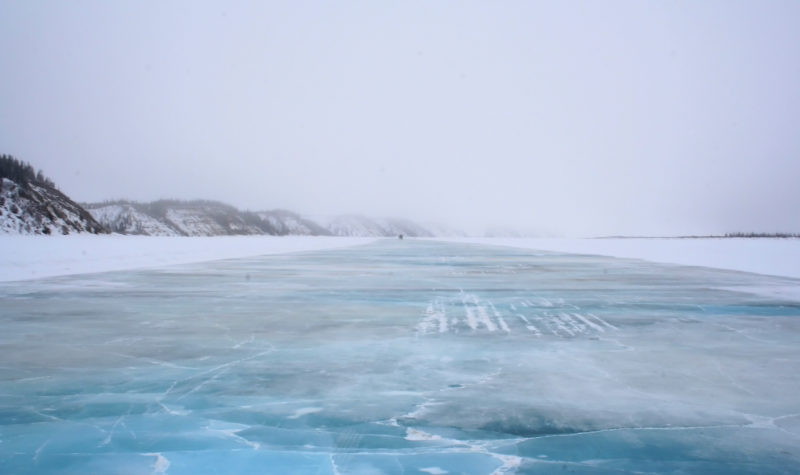 Canada's road to the Arctic Ocean opens