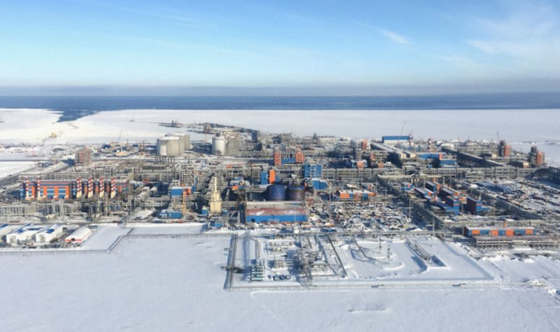 The Yamal LNG facility in Russia's Arctic. (Courtesy of Yamal LNG via High North News)