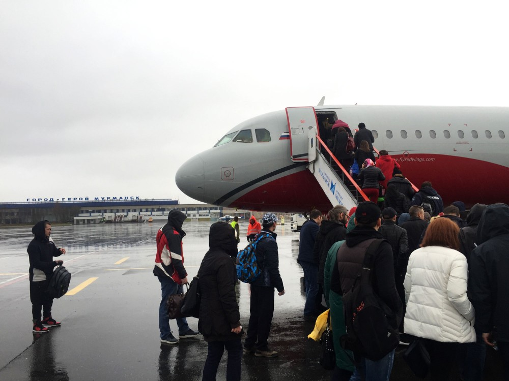 Two Russian airlines merge as more Russians fly north
