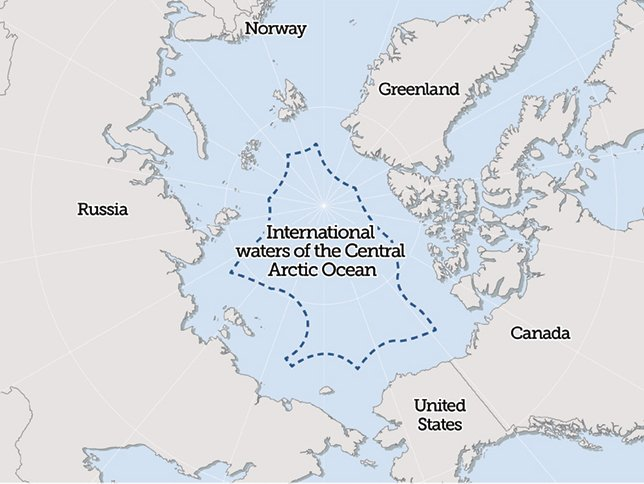 Talks resume this week in Washington, D.C. over a preemptive moratorium on fishing the international waters of the Arctic Ocean. (The Pew Charitable Trusts)