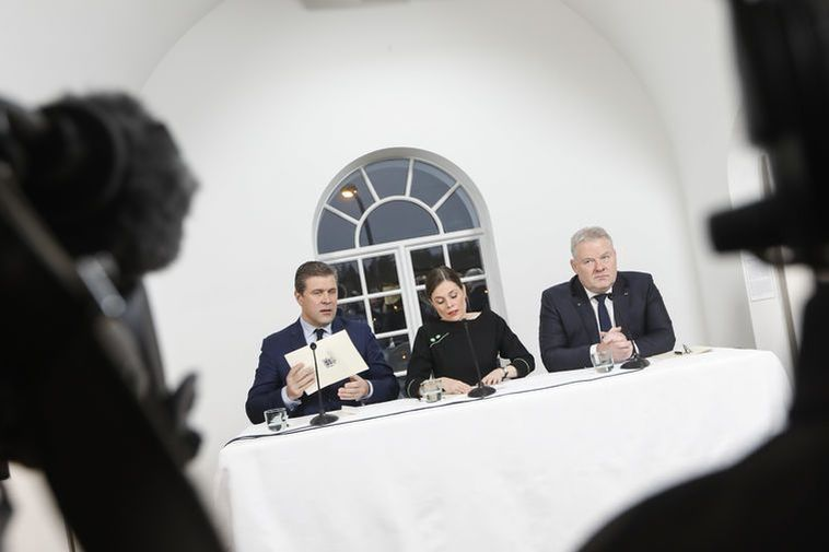 Iceland's new government is unveiled