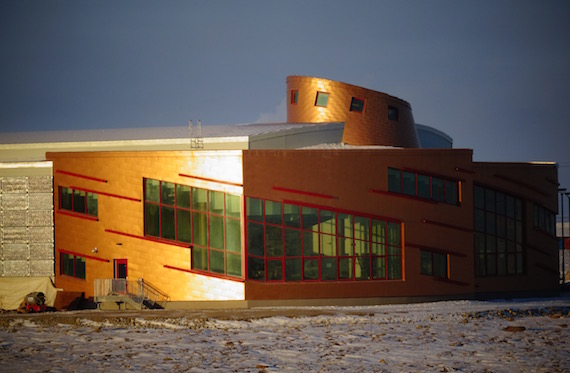 Some 41 projects are slated to receive $8.1 million through the Canadian High Arctic Research Station in Cambridge Bay, whose official opening has yet to take place. (Jane George / Nunatsiaq News)