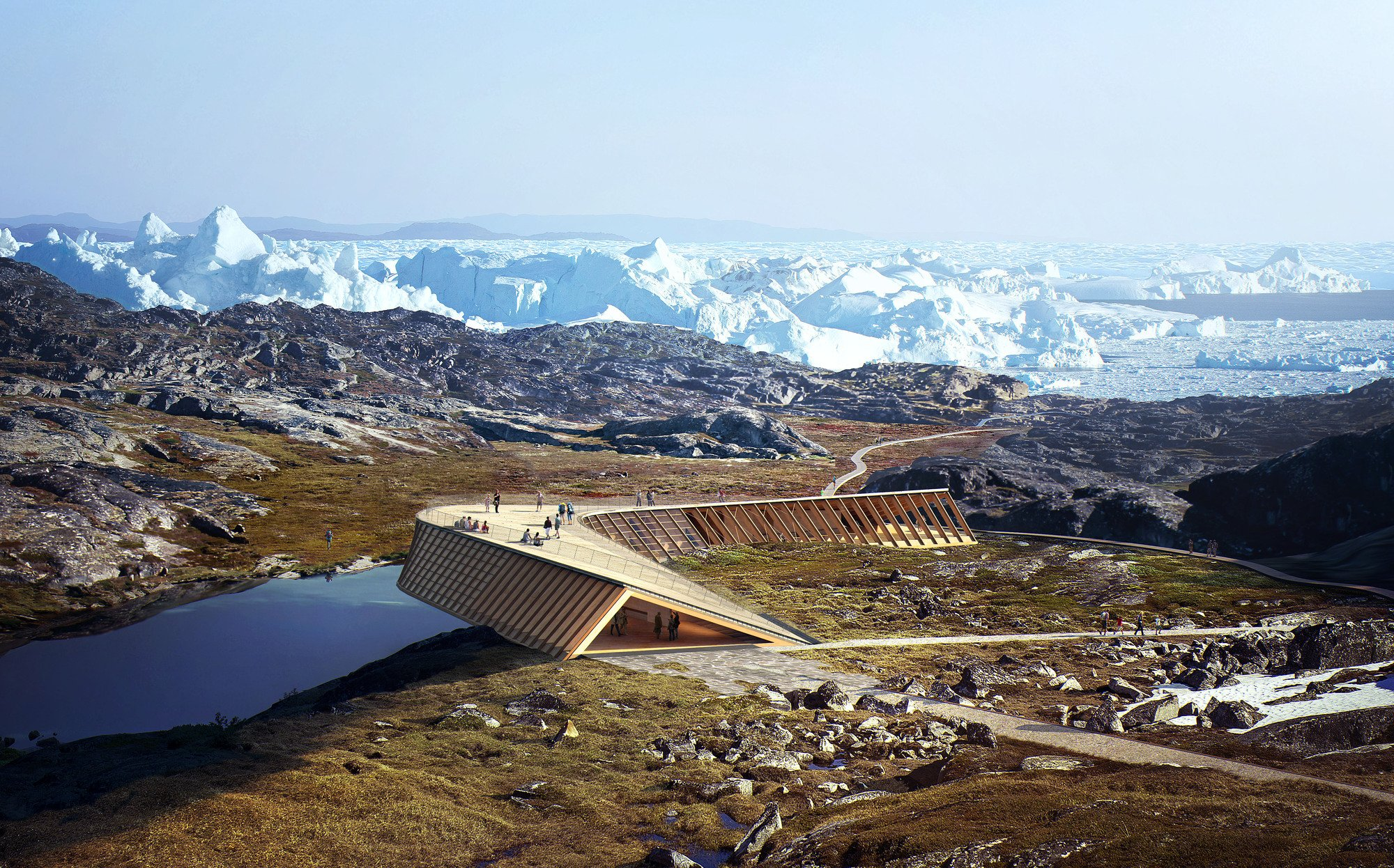 Thanks to philanthropic efforts, a long-awaited visitor center at Ilulissat Icefjord could soon become a reality