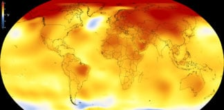2017 was second-warmest year on record, says NASA