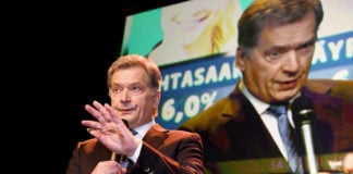 Finns, worried by Russia, hand cautious president huge election win