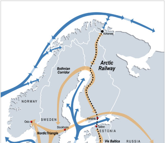 When will Europe's Arctic railway be built? That could depend on cargo volumes