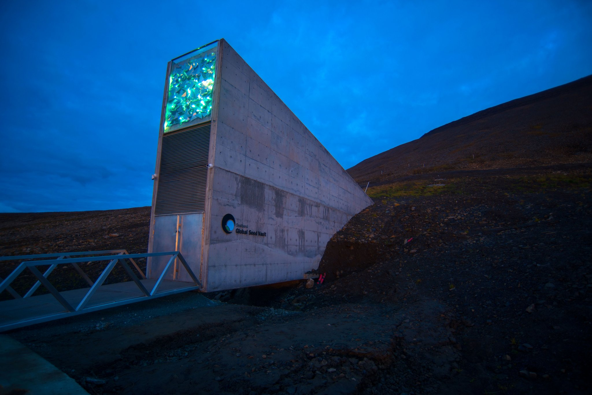 282297bd The Svalbard Global Seed Vault celebrates its 10th anniversary this week.  (Riccardo Gangale / The Royal Norwegian Ministry of Agriculture and Food)