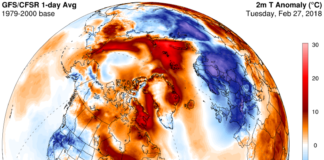 Unusually warm temperatures are lingering in much of the Arctic, alarming scientists