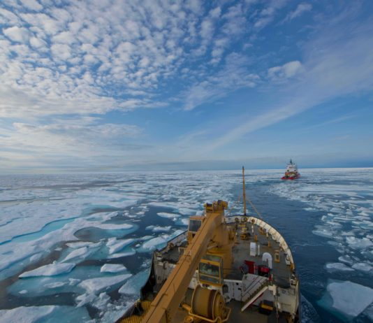 More ships are traveling longer distances in Canada's Northwest Passage