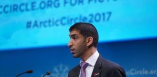 A lonely Arab at the Arctic Circle Assembly