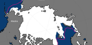 Arctic sea ice is on pace for a new record-low winter maximum