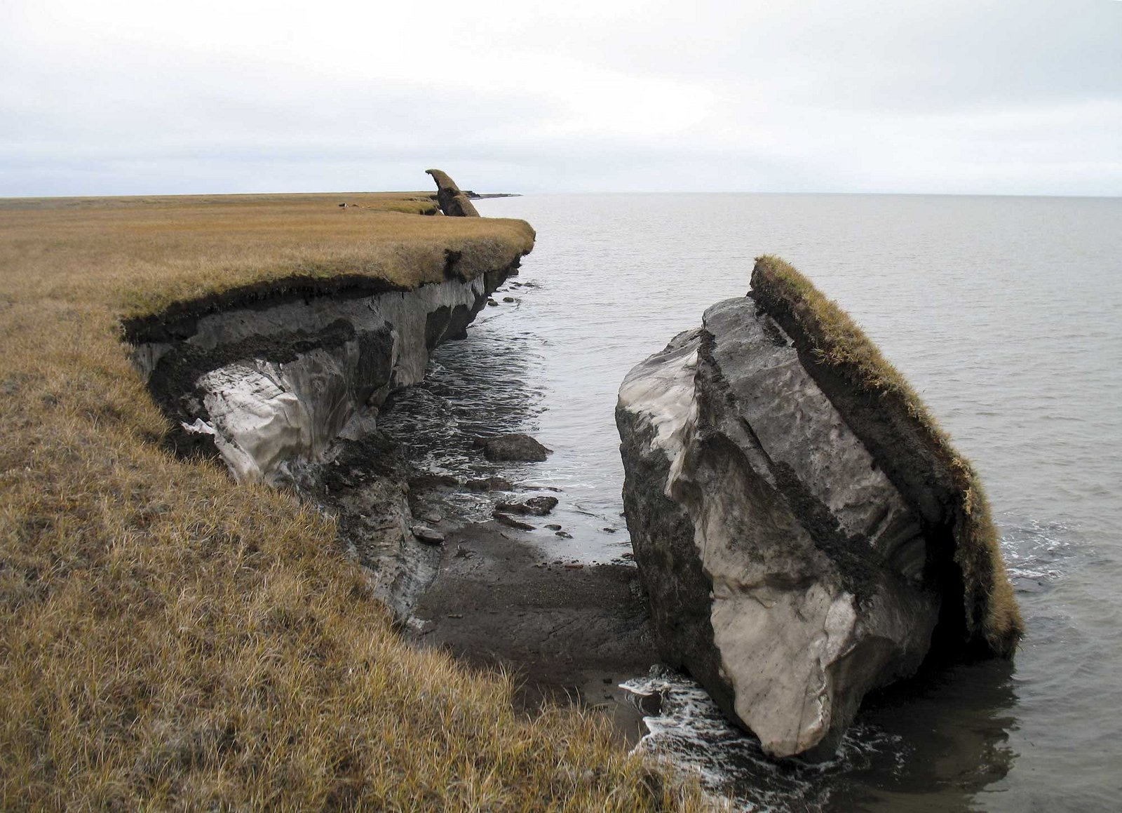 problems caused by coastal erosion