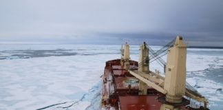 How ordinary ship traffic could help map the uncharted Arctic Ocean seafloor