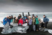 Iceland saw a slight drop in tourists for the first time in years this April