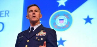 Outgoing commandant says Arctic has become a top priority for US Coast Guard