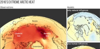 Researchers link 2016's Arctic extremes to human-caused climate change