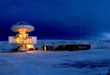 New Greenland telescope begins search for black holes